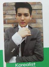 EXO - GROWL XOXO  PhotoCard(Official) -KRIS _ EXO M K _ tvxq