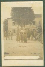 PRIMA GUERRA. Caporetto. Cartolina fotografica, circa 1917. Buona conservazione