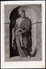 Antique Print-SAINT-PETER-APOSTLE-KEY-BOOK-Ehinger-Sandrart-1708