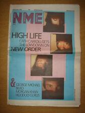 NME 1985 NOV 16 NEW ORDER GEORGE MICHAEL HOODOO GURUS