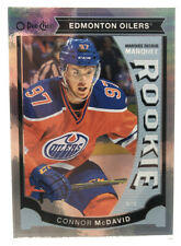 Connor Mcdavid RARE 15-16 opc update Chrome Rainbow Parallel rookie card RC