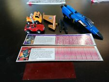 THREE VINTAGE G1 TRANSFORMERS- DIRGE, HUFFER, WINDCHARGER