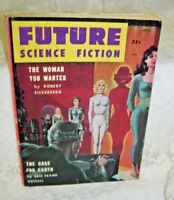1958 Future Science Fiction Paperback Book The Woman You Wanted etc.