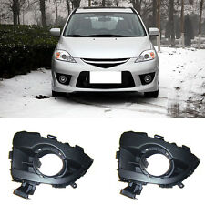 For Mazda 5 2006-2010 Front Left+Right Driving/Fog Lights Cover Decoration Trim