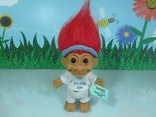 "Houston Oilers Good Luck Sports Troll - 5"" Russ Troll Doll - Rare"