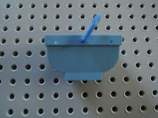 LEGO 1 x Belville Korb Einkaufskorb 30109c02 mittelblau   + Griff blau   5843