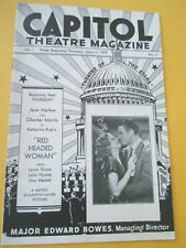 June 23 - 1932 - Capital Theatre Magazine - Laurel and Hardy Comedy