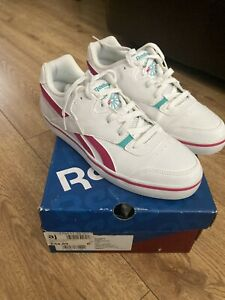 Reebok Classic Women's Pink ,green & white Size 5.5 Trainers