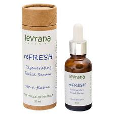 REFRESH REGENERATING FACE SERUM LEVRANA Organic 30ML