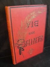 Paul Guérin: Vie des saints vol 4 (ill de Yan Dargent) chromolithographies 1894