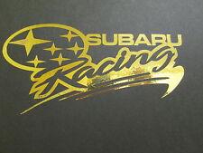 Subaru RACING STICKER/DECAL, Impreza, WRX, Sti, WRC, deportes de motor.