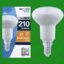 6W (=40) R50 LED Low Energy Pearl Reflector Spot Light Bulb SES E14 Light Lamp