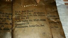 1903a3 Bolt sleeve lock, New, Old Stock part Remington qty 25 pack