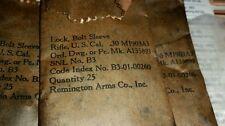 1903a3 Bolt sleeve lock, New, Old Stock part Remington qty 100