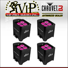 (4) CHAUVET Freedom Par Hex-4 Battery-Powered LED Light Electronic Strobe Effect