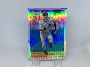 1999 Topps Chrome Refractor #85 Derek Jeter Yankees