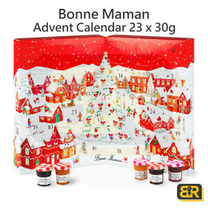 Bonne Maman Advent Calendar 23 Mini Combo Jam Jars Spread 23 x 30g Surprise Gift