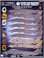 Furball Decals 1/48 GRUMMAN F-14 TOMCAT Colors & Markings U.S. Navy Tomcats #5