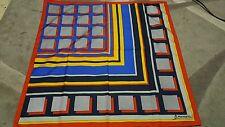 Trevira  Veronique foulard 78x78 poliestere vintage scarf square woman RARE kitc