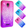 For Alcatel 3/Tetra/Verso Bling Liquid Glitter Dynamic Quicksand Phone Case
