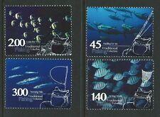 NUOVA ZELANDA 2015 TOKELAU TRADIZIONALE FISHING PREGIATO USATO