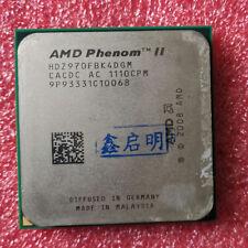 AMD Phenom II X4 970 Quad Core CPU 3.5GHz 6MB Socket AM3 HDZ970FBK4DGM Processor