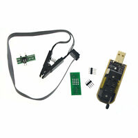 CH341A 24 25 Series EEPROM Flasher BIOS USB Programmer + SOIC8 Clip On-Board