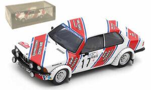 Spark S8400 BMW 320i E21 #17 Monte Carlo Rally 1980 - Timo Makinen 1/43 Scale