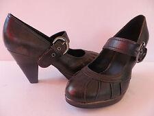 GRACELAND ° chice PUMPS Gr. 40 braun Damen Mode Schuhe Ankle-Boots Mary Janes