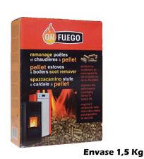 Deshollinador para Estufas y Calderas de Pellet OK FUEGO 1,5 KG
