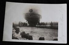 Photo originale obser  vation-Zeppelin MOYENNEVILLE SOMME FRANCE 1916/1.wk