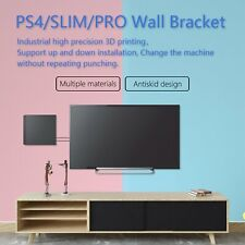 Wall Mount Rack Bracket Stand Holder for PlayStation 4 PS4 Slim Pro Game