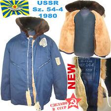 Sz.544 SOVIET PILOTS AIR FORCE INTERCEPTOR BOMBER FUR-COAT jacket sheepskin