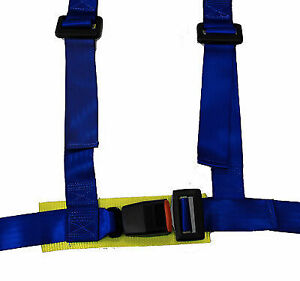 NRG 4 POINT SAFETY HARNESS BLUE UNIVERSAL SBH-100BL