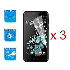 For Htc U Play Screen Protector Cover Guard Lcd Film Foil x 3