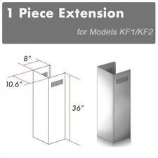 ZLINE CHIMNEY EXTENSION FOR WALL RANGE HOOD up TO 10 FT ceiling for KF1, KF2