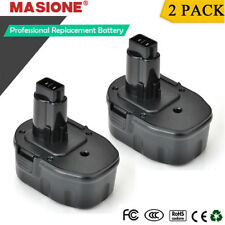 2 Pack 14.4V Ni-CD Battery for DEWALT 14.4 Volt DC9091 DW9091 DW9094 Power Tool
