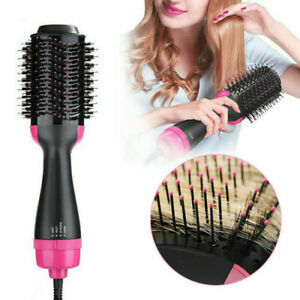 4 in 1 Electric Hair Blow Dryer Brush Comb Hot Air Drying Styler Styling Tools