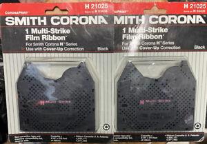 Smith Corona Multi Strike Film Ribbon H 21025 / 63438 TYPEWRITER Lot Of 2