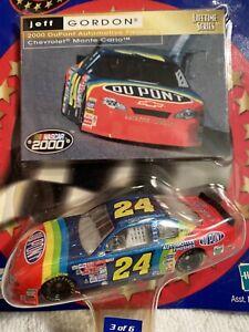 2000 Jeff Gordon #24 Dupont rainbow WC Lifetime series (3) NASCAR 1:64 DIE-CAST