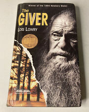 """""""The Giver"""" by Lois Lowry 1993 Vintage Hardcover Book"""