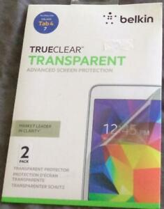 Belkin TrueClear™ Screen Protection - BRAND NEW IN PACKAGE - Galaxy 7 Tab 4