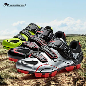 Santic Cycling MTB Shoes 3 Colors Athletic Racing Team Bicycle Shoes Breathable