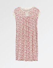 47f88bc4d9a2 Fat Face - Women's - Una Patchwork Print Dress - Ivory - 100% Cotton -