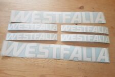 vw westfalia white t3 t25 Stickers Decals high quality dicut x6
