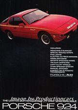 1979 Porsche 924 Limited Edition Sebring 79 Advertisement Print Art Car Ad J743