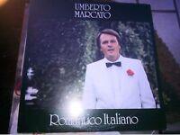 "LP 12"" UMBERTO MARCATO ROMANTICO ITALIANO COVER EX++ VINILE  N/MINT"