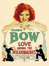 Love Among the Millionaires - 1930 - Clara Bow Tuttle Pre-Code Comedy Film DVD