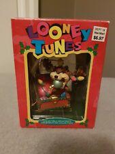 Vintage 1995 Looney Tunes Tasmanian Devil Collectible Ornaments by Matrix
