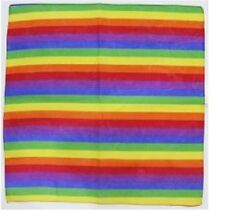 Rainbow Bright Gay Pride Scarf Bandanna Neck Head Wear Fancy Dress .
